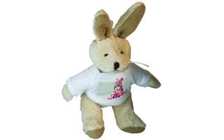 Portachiavi personalizzato con foto - Coniglio