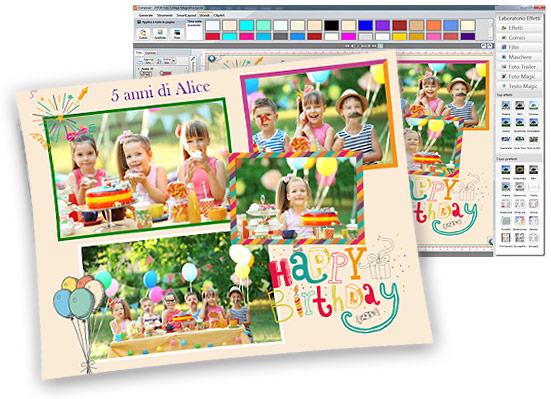 Collage Foto con Silver