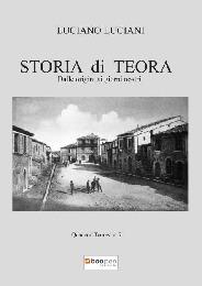 Storia di Teora - LUCIANO LUCIANI