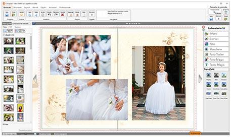 software fotolibro comunione