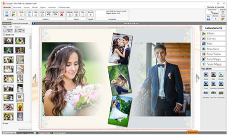 software fotolibro matrimonio