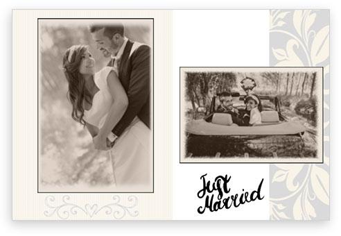 design matrimonio just married