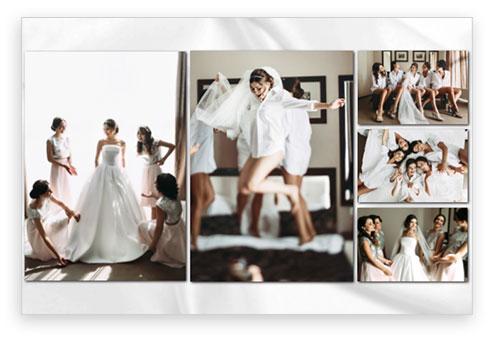esempio design matrimonio sposa