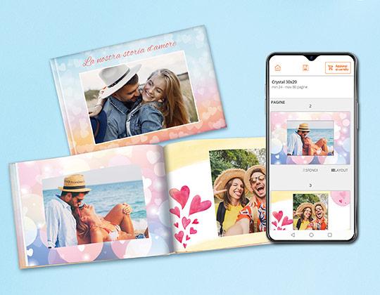 crea fotolibro da app