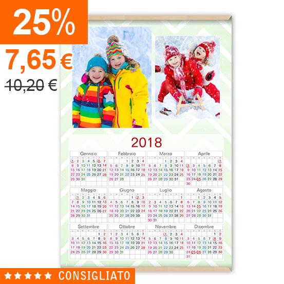 Calendario Gold Tela