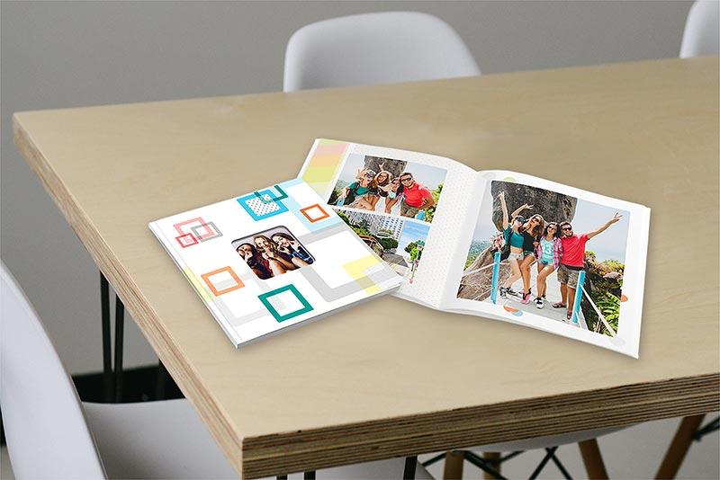formato quadrato fotolibro silver book