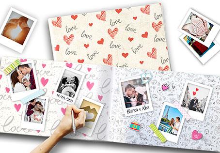 idee regalo per san valentino album vintage