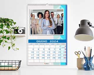 Calendario con foto azienda