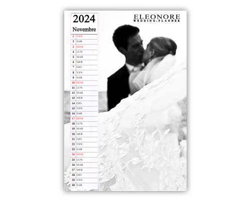 Calendario aziendale layout