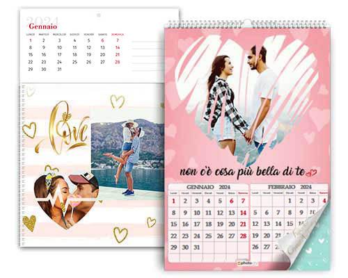 calendario con foto personali