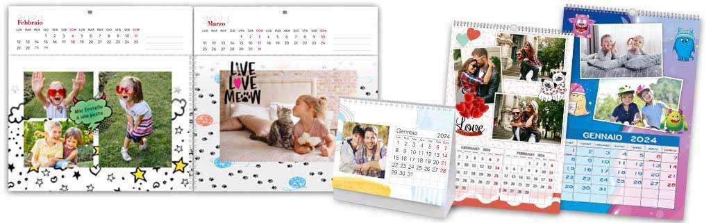Creare calendario personalizzato