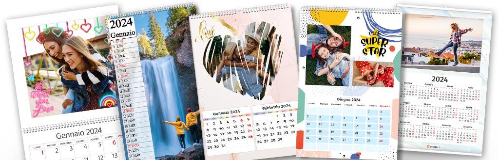 creare un calendario con foto