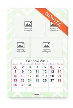 calendario 12 fogli