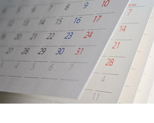Calendari personalizzabili da PDF