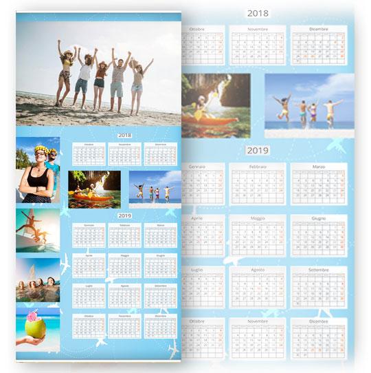 caratteristiche calendario con foto fine art 1 foglio