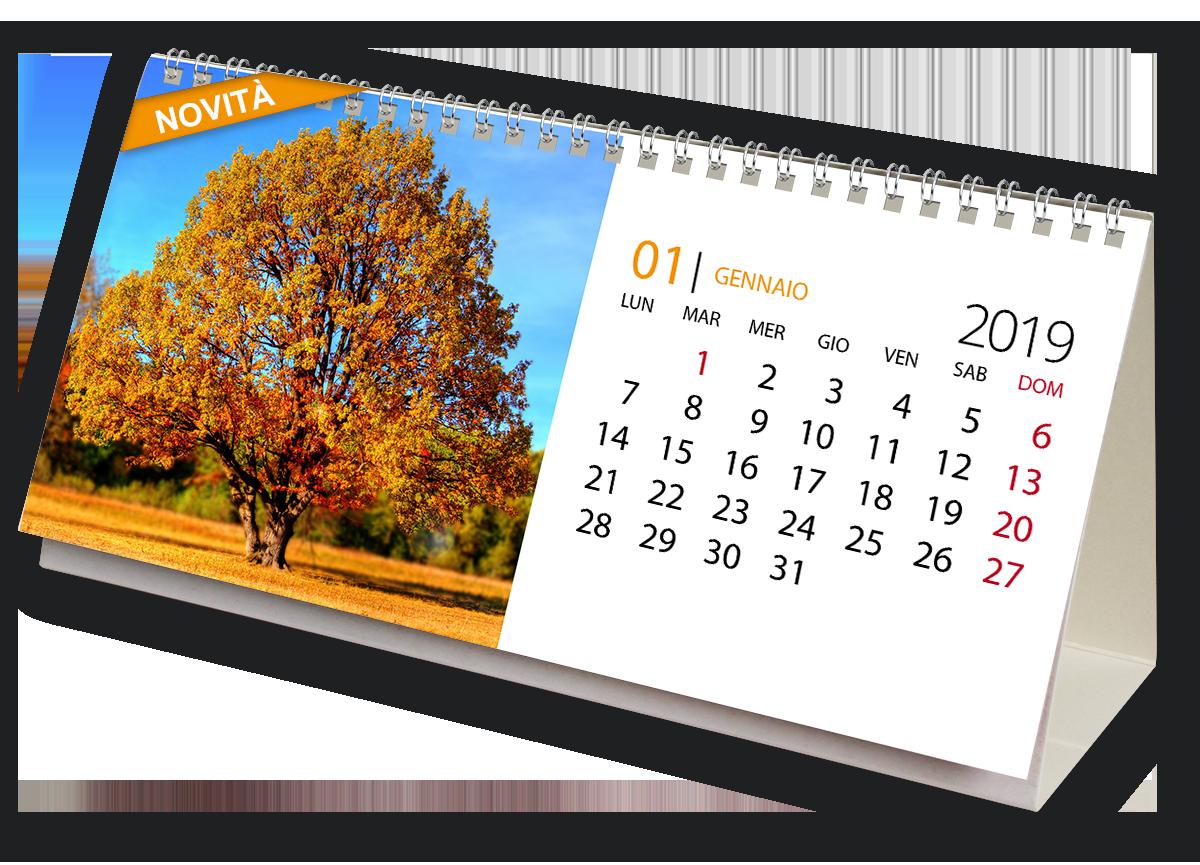 calendario da tavolo