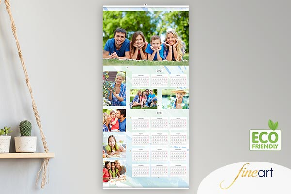 Calendario 2020 Da Stampare Semestrale.Calendari Personalizzati Su Carta Fotografica Fujifilm E