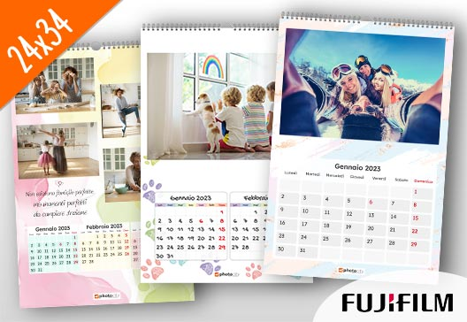 calendari personalizzati 24x34