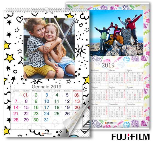 calendari personalizzati fotografici