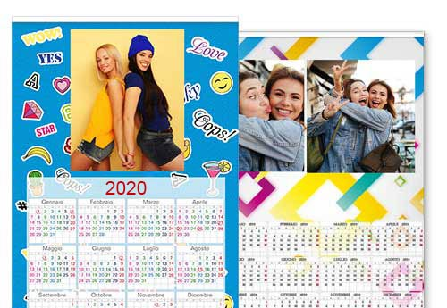 calendario fotografico 30x45