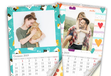 calendario fotografico 12 fogli