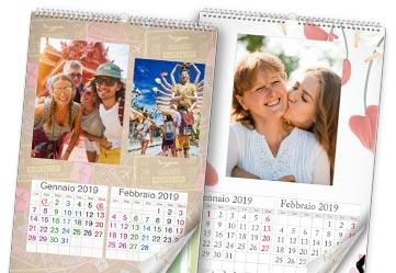 calendario fotografico 6 fogli