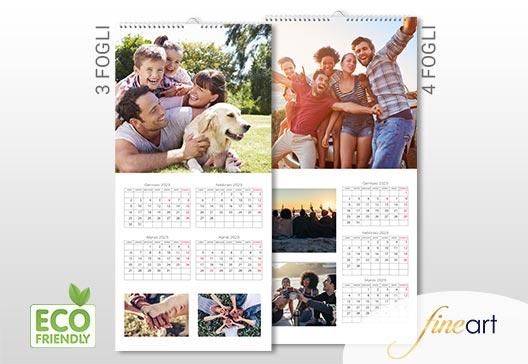 calendari personalizzati Fine Art