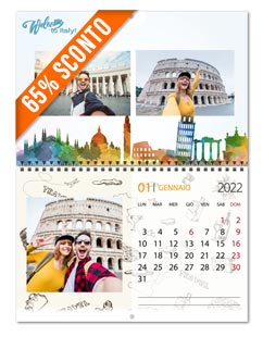 foto calendario style 30x40