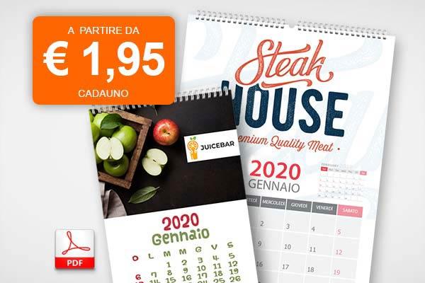 offerte Calendari da PDF