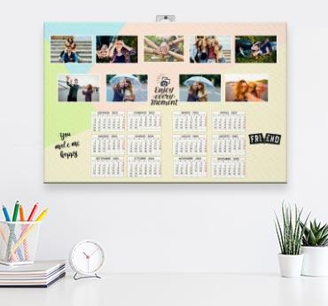 Calendari canvas