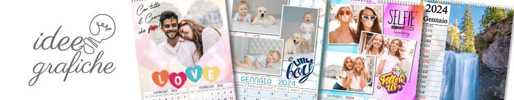 idee grafiche calendari