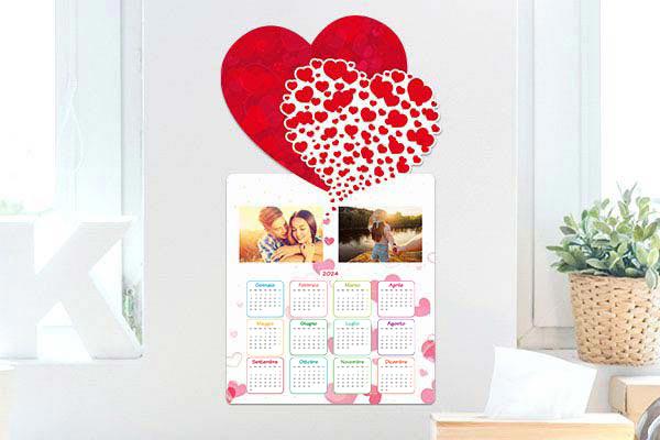 calendario mirai amore