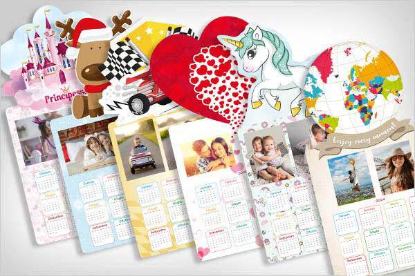 calendari personalizzati mirai