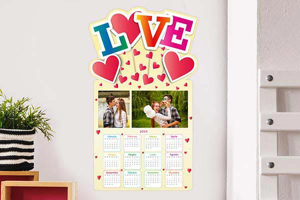 calendario mirai love