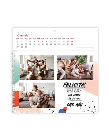 calendario fotolibro quadrato