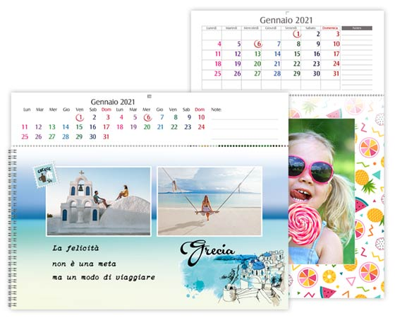Calendario 2020 Personalizzato Gratis.Calendario Fotolibro Photocity It