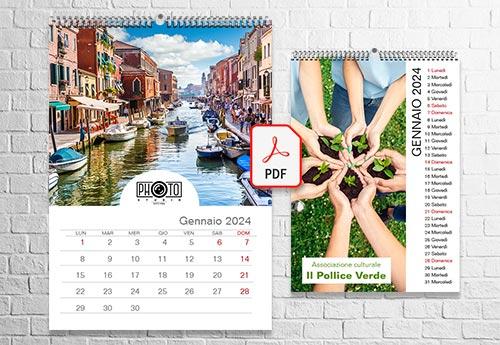 Calendari da PDF