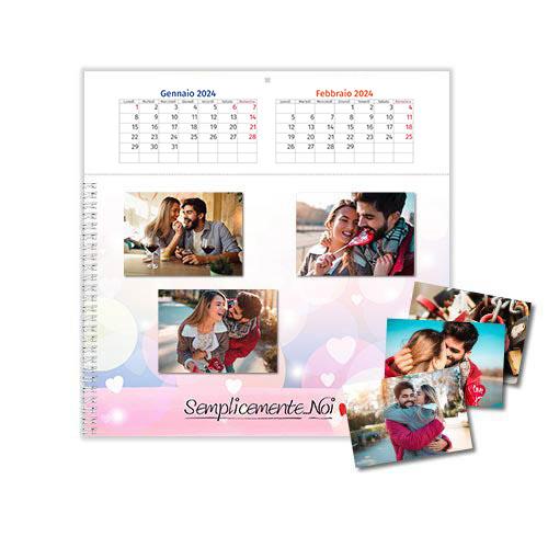 calendario Origami Love