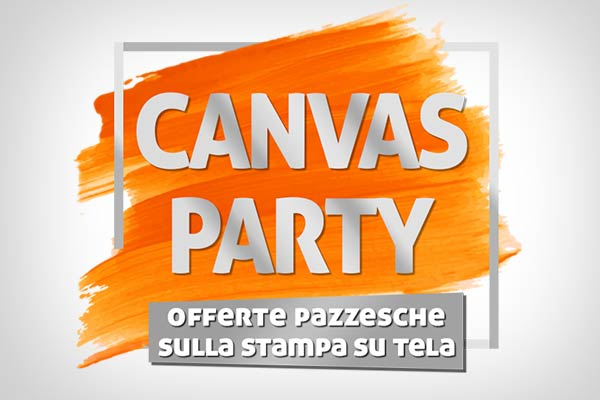 offerte canvas party