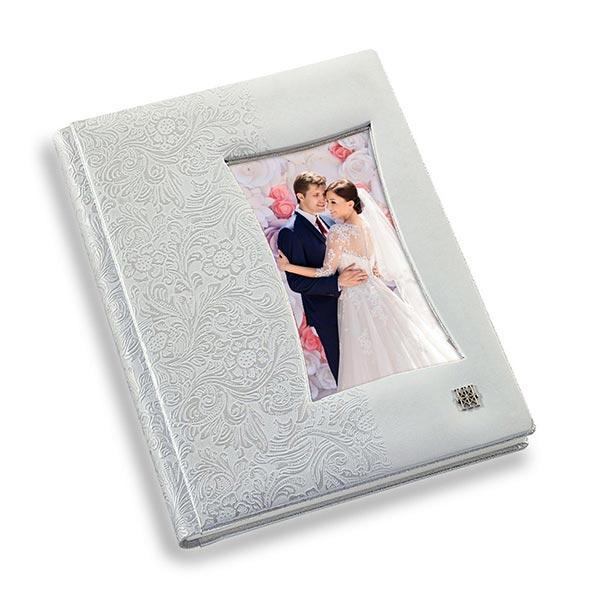 copertina officina libris blanco y flores frame