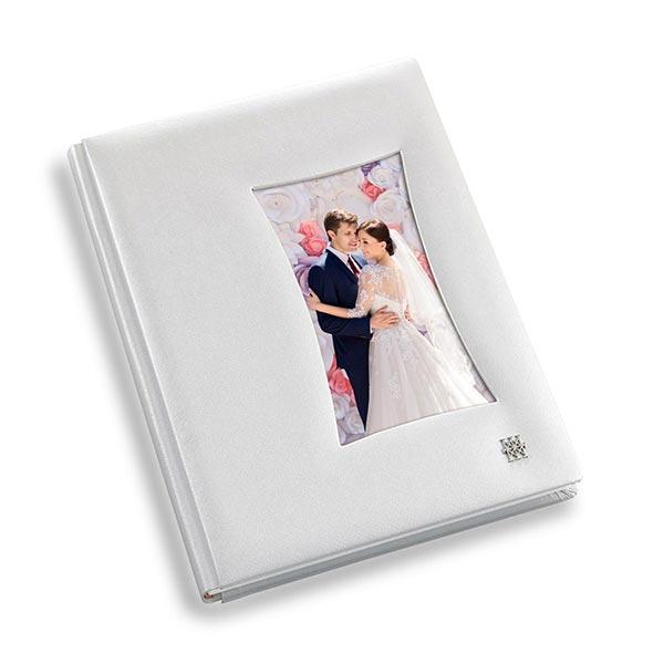copertina officina libris saffiano frame