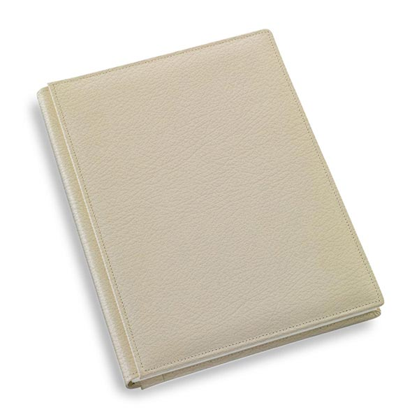 copertina officina libris full grain cucito