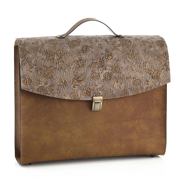 valigia rosa dorata