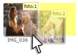 dettaglio sequenza fotolibro