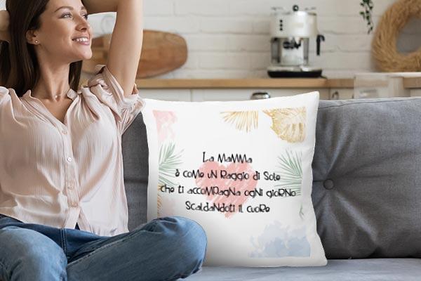 cuscino con foto