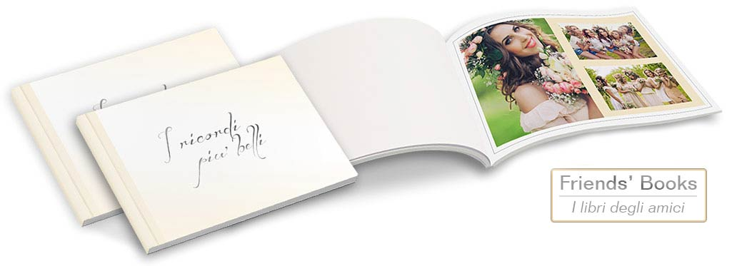 Fotolibro Autore Friends Books
