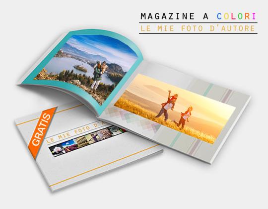 Fotolibro omaggio Magazine