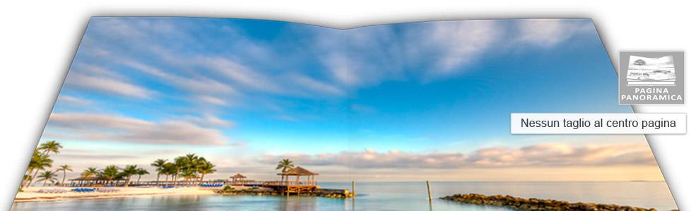 impaginare fotolibri panoramici