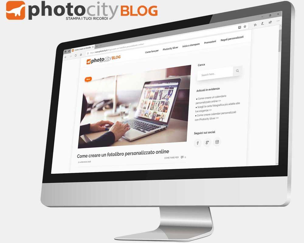 come creare un fotolibro online