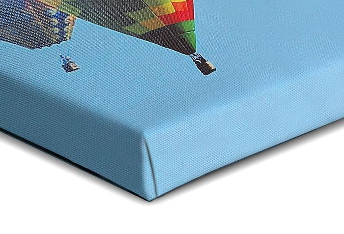 stampa su tela con telaio